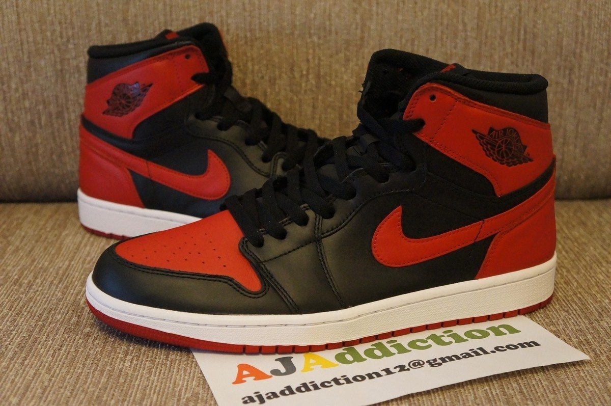 jordan 1 red and black