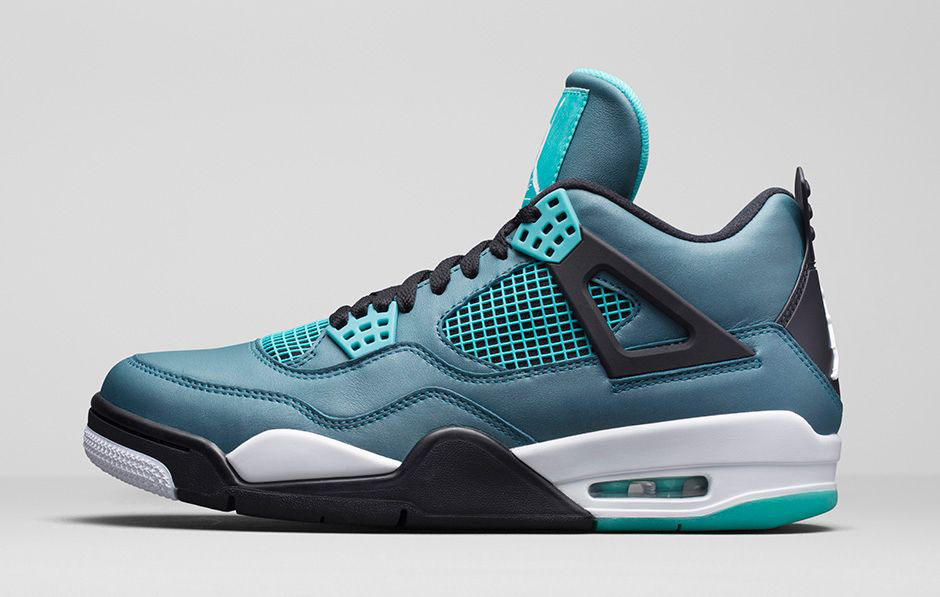Air Jordan IV 4 Teal 705331330 2