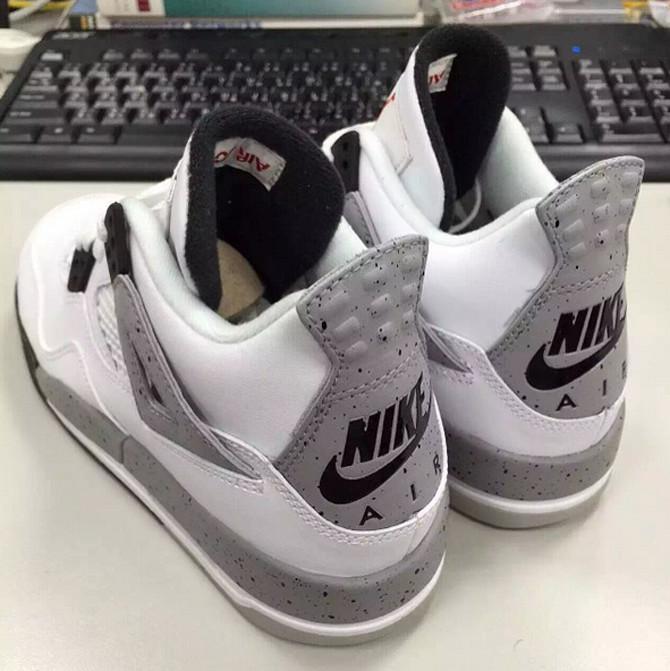 Nike Air Jordan 4 Cement Grey