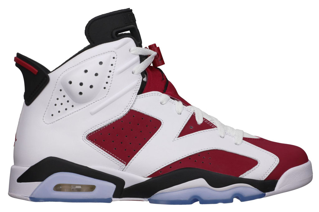 Best Retros of 2014: Air Jordan VI 6 Carmine