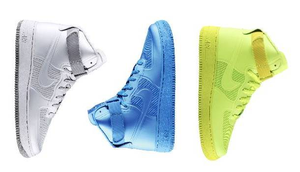 Nike Air Force 1 Hi Hyperfuse Premium - Three Colorways Available