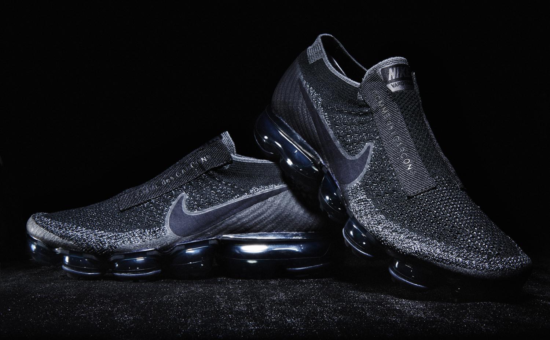 Black Nike Air VaporMax Comme des Garcons Pair