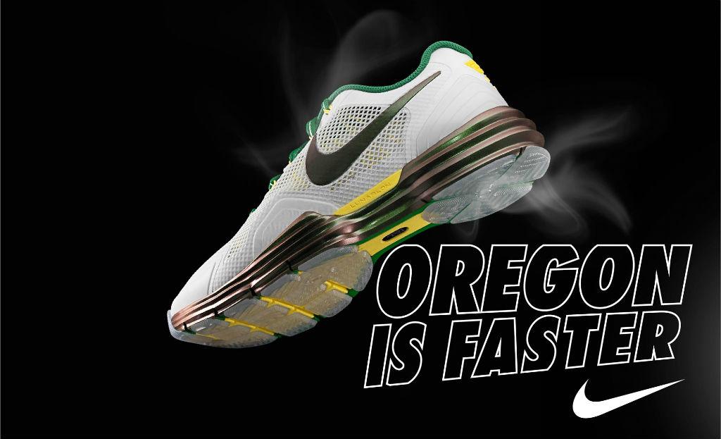 low priced 5e166 d5eb9 Nike Lunar TR1 Oregon Ducks White 574266-103