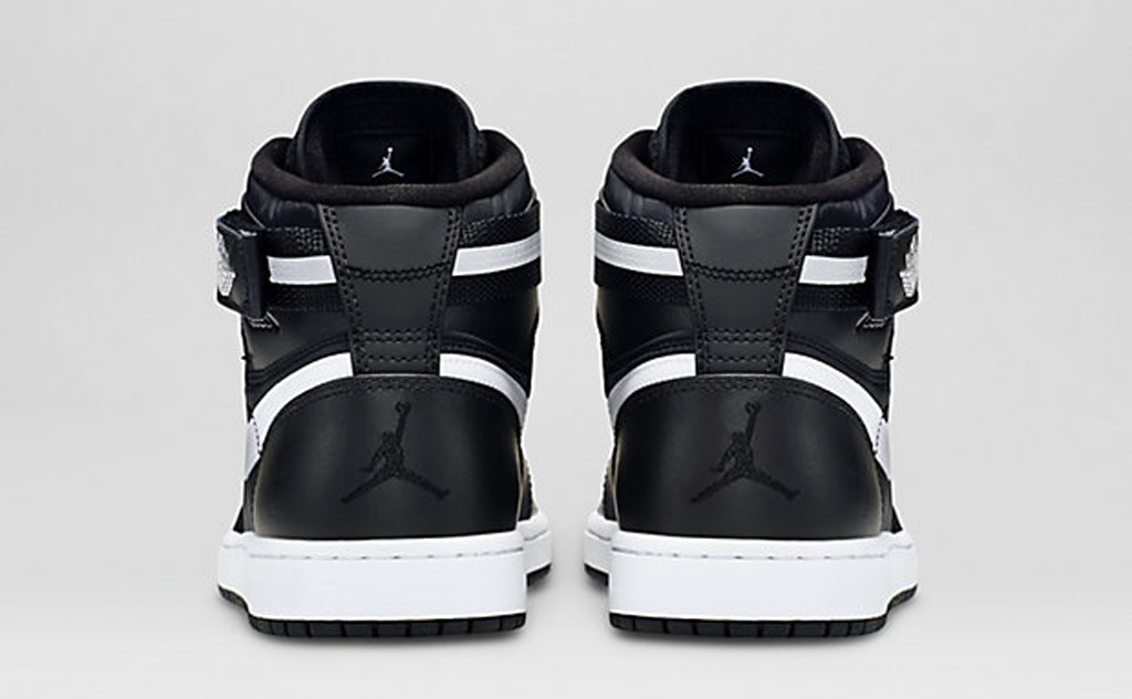 Black and White Covers This Air Jordan 1 High Strap  6f45fbcaa7ee