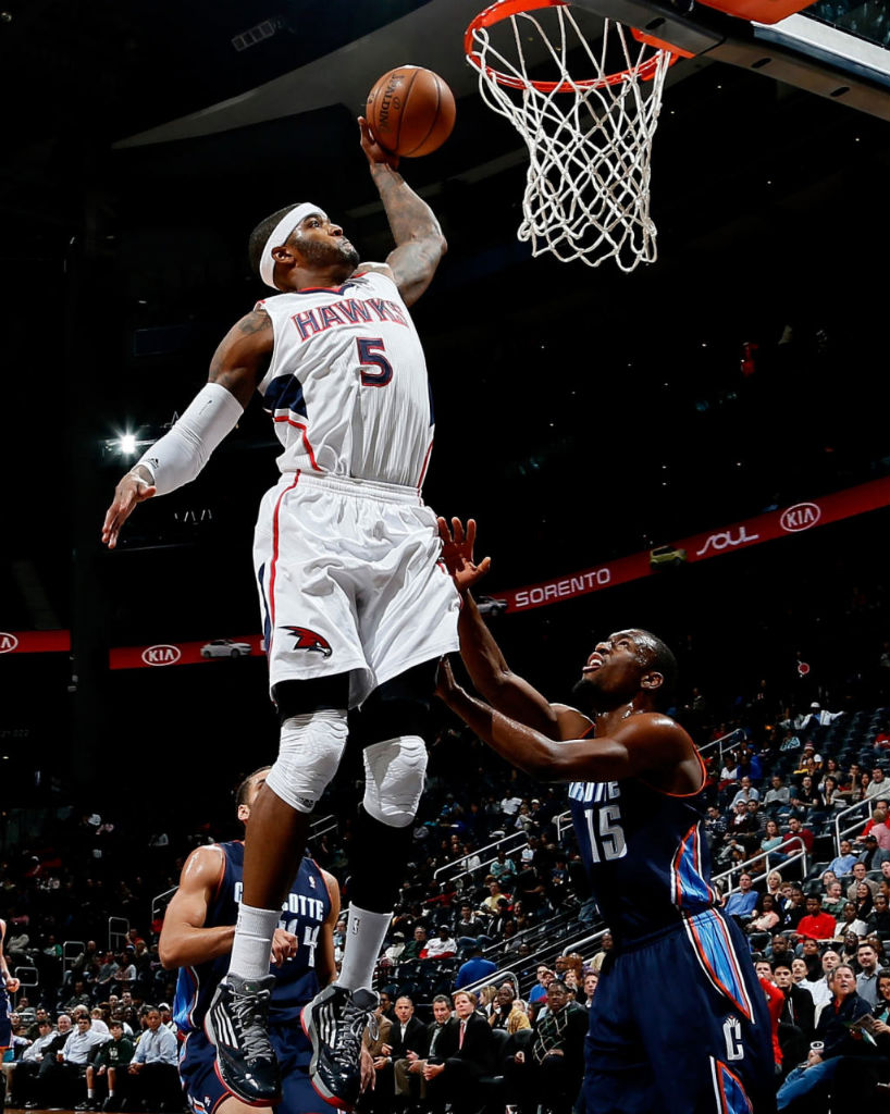 Josh Smith wearing adidas adizero Ghost 2 PE