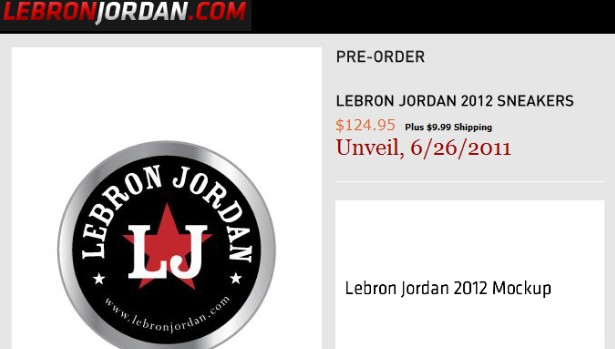 Nike Issues Cease-And-Desist to Lebron Jordan