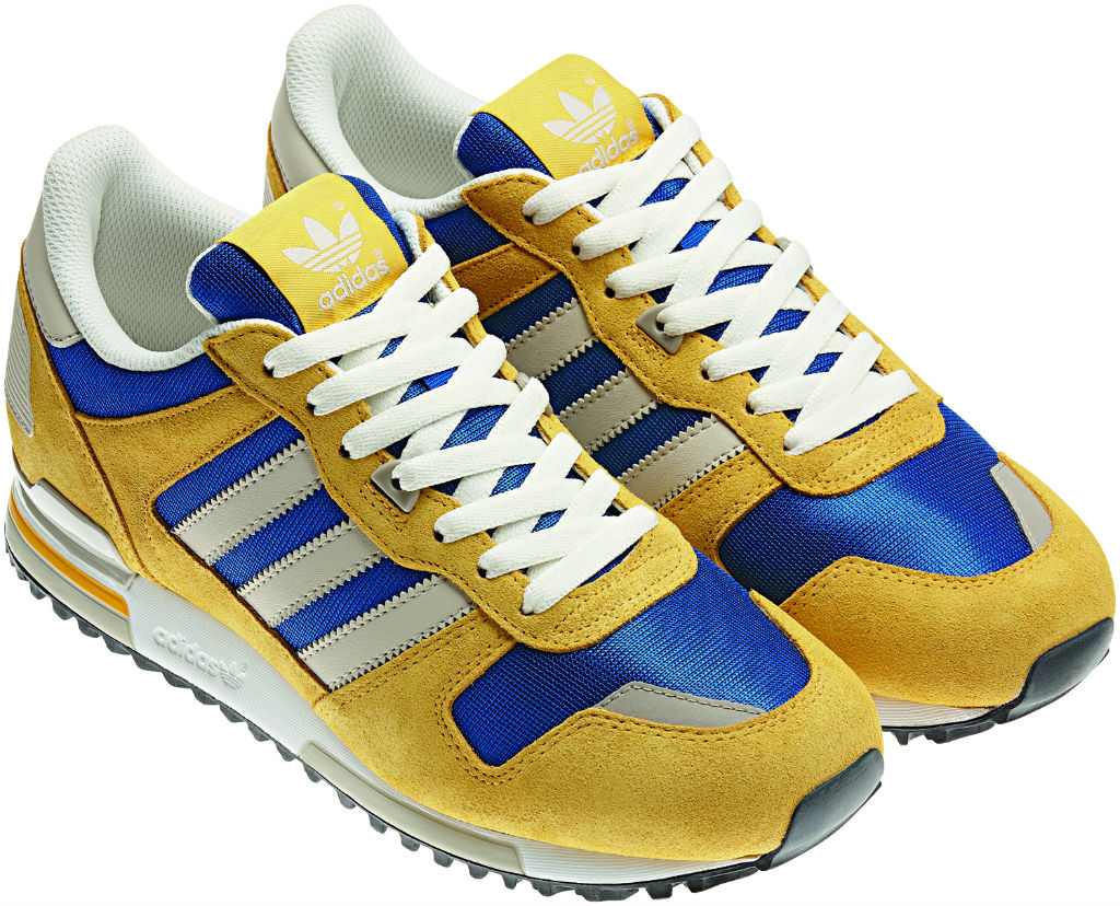 adidas Originals ZX 700 Sunshine True Blue Spring Summer 2013 Q23653 (2)