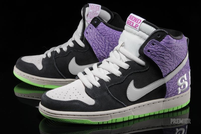 Todd Bratrud x Nike SB Dunk High 'Send