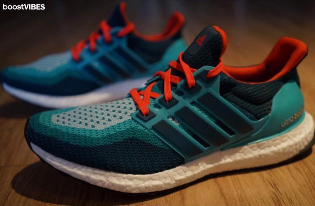 Adidas Ultra Boost Blue Orange