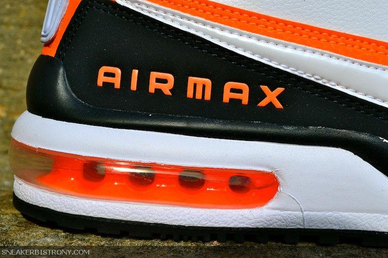 low priced 0f08e a141e Nike Air Max LTD White Black Orange (2)