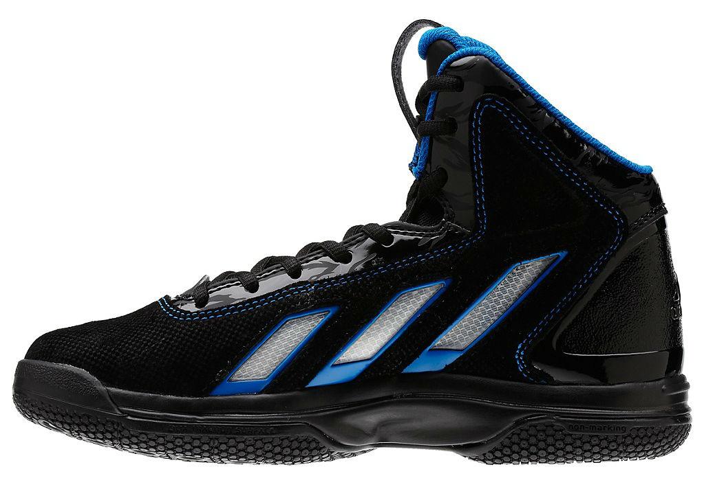 new arrival 05fd8 cb755 adidas adiPower Howard 3 Kids Black Running White Bright Blue G47465 (4)