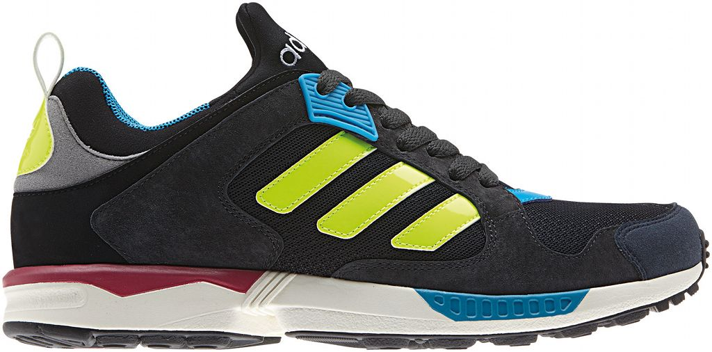 adidas Originals ZX 5000 RSPN - Spring/Summer 2014 - Black/Yellow-Blue-Red (1)