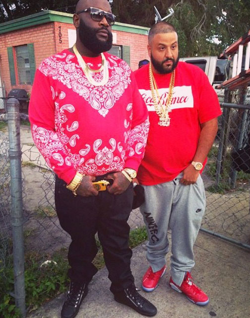 5df0a85f435364 DJ Khaled wearing Slam Dunk x Air Jordan 6