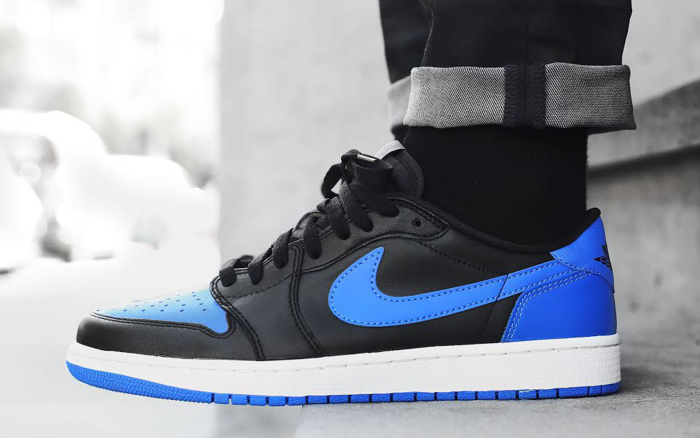 c4ce7c37dd2f The  Royal  Air Jordan 1 Low Is Keeping a Low Profile