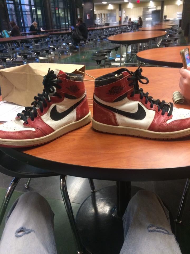 Teacher Gives Student 1985 Air Jordans