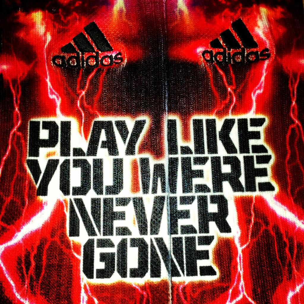 Robert Griffin III RG3 New Play Like You Were Never Gone Socks (4)