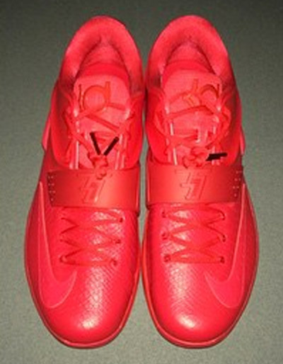 Nike KD VII 7 Red Leather Snakeskin (2)