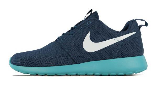 Nike Roshe Run - Squadron Blue Fiberglass-Sport Turquoise  d8c6fca8da