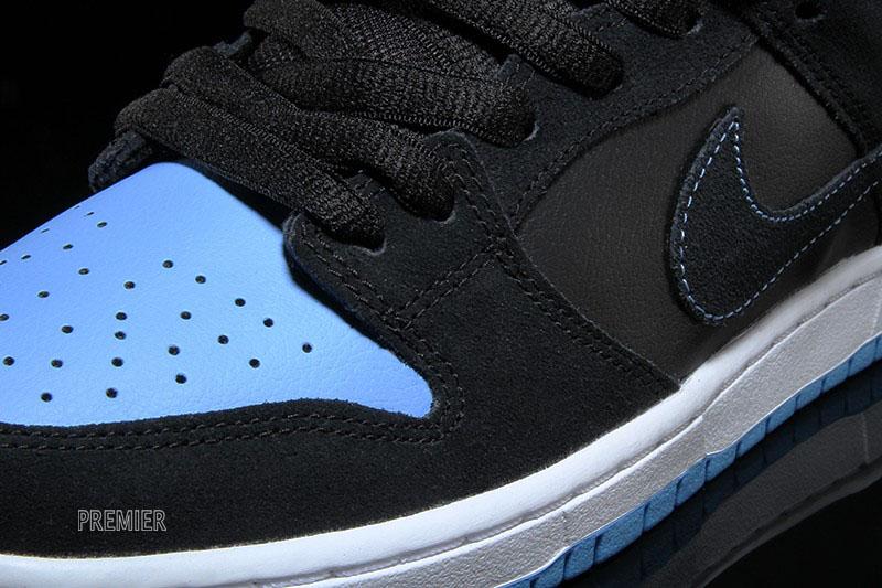 newest 11b79 0e23c Nike Dunk Low SB Black University Blue 304292-048 (3)
