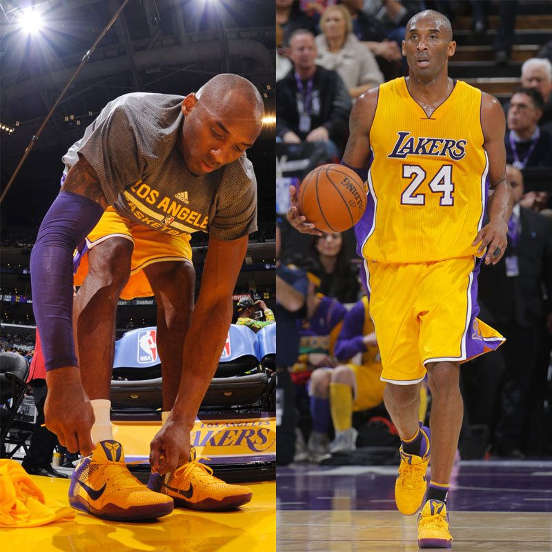 #SoleWatch NBA Power Ranking for January 10: Kobe Bryant