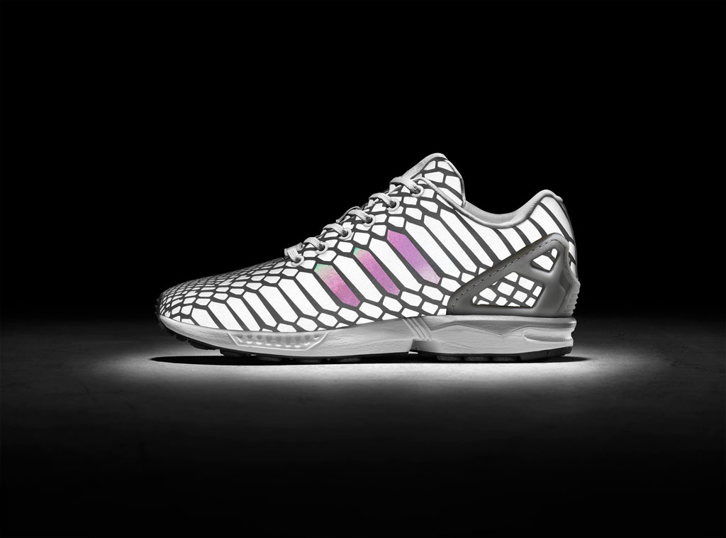 The 'Xeno' adidas ZX Flux Turns Silver | Sole Collector