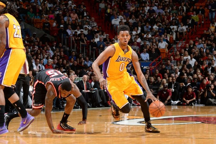 Nick Young Debuts Nike Kobe IX 9 Elite