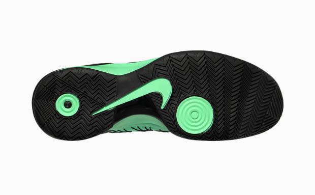 nike hyperdunk 2013 green glow sole collector