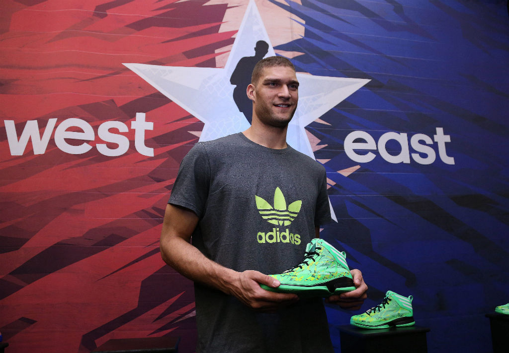 adidas Tips Off NBA All-Star Weekend - Brook Lopez
