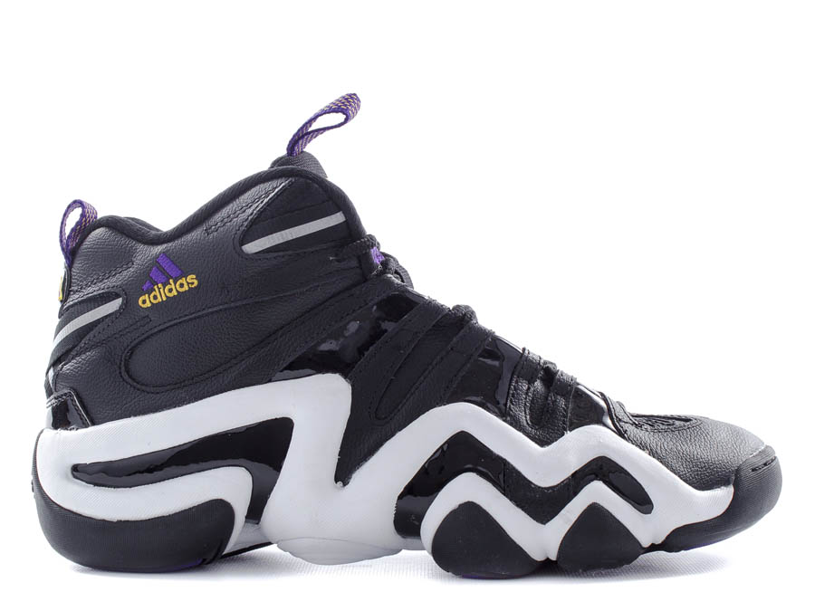 ... games past  the adidas Crazy 8 colorway worn by Kobe Bryant in 1998.  This black-based Lakers color scheme of the Feet You Wear favorite is  available now ... c6c3a1784