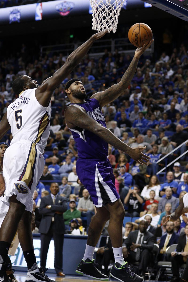 DeMarcus Cousins wearing the 'Joker' Air Jordan 3 (2)