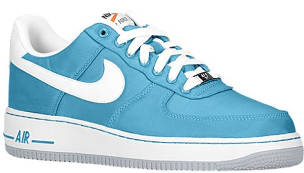 Nike Air Force 1 Low Tropical Teal/White-Wolf Grey