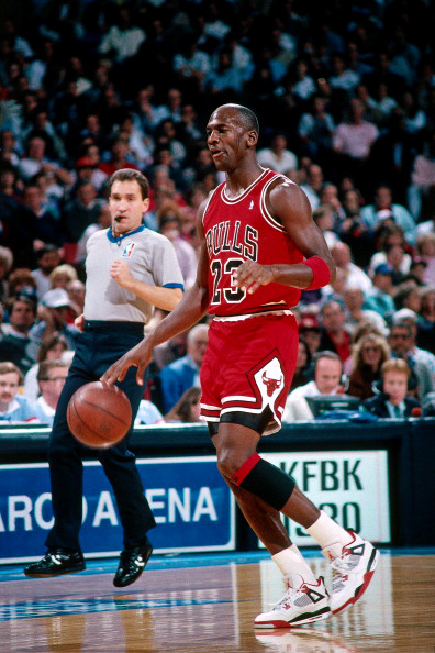 e8c0382a28b322 Check out a few images of the GOAT wearing the original Air Jordan IV
