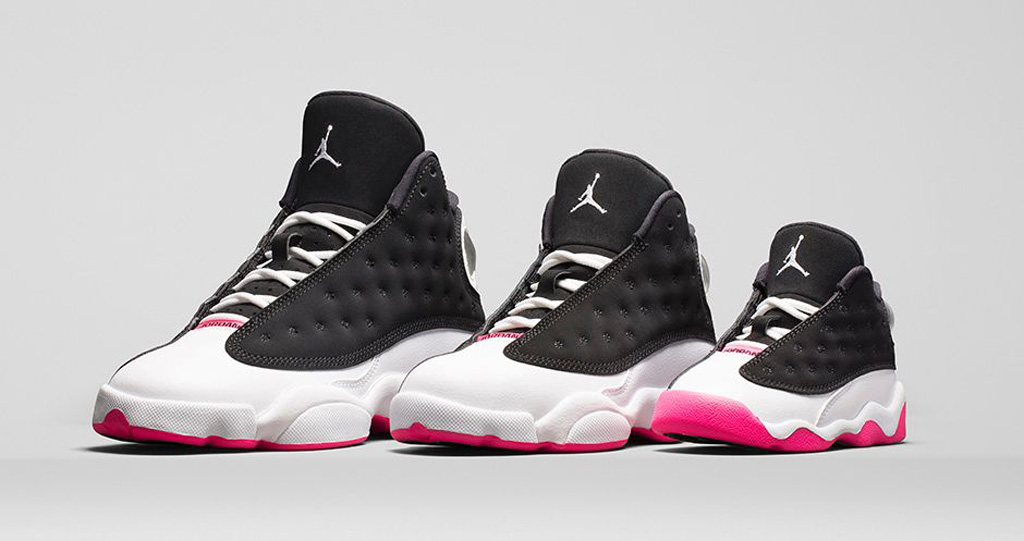 pretty nice 30f10 85534 An Official Look At The 'Hyper Pink' Girls Air Jordan 13 ...