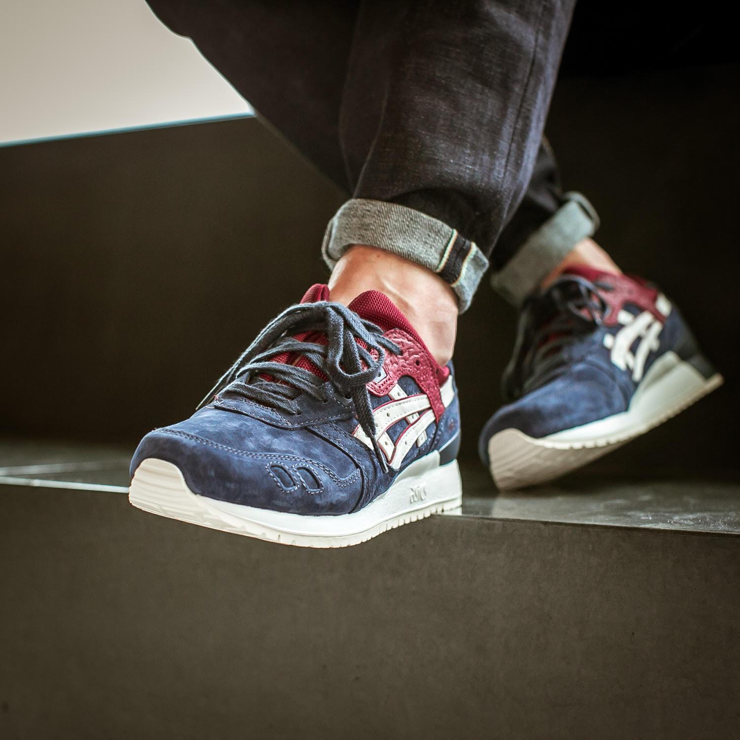 Asics Gel-Lyte III India Ink Toe