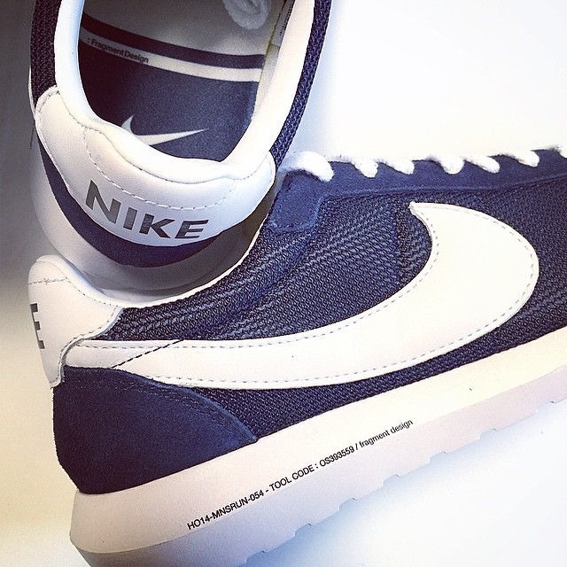 DJ Skee Picks Up fragment design x Nike Roshe Run LD-1000 SP
