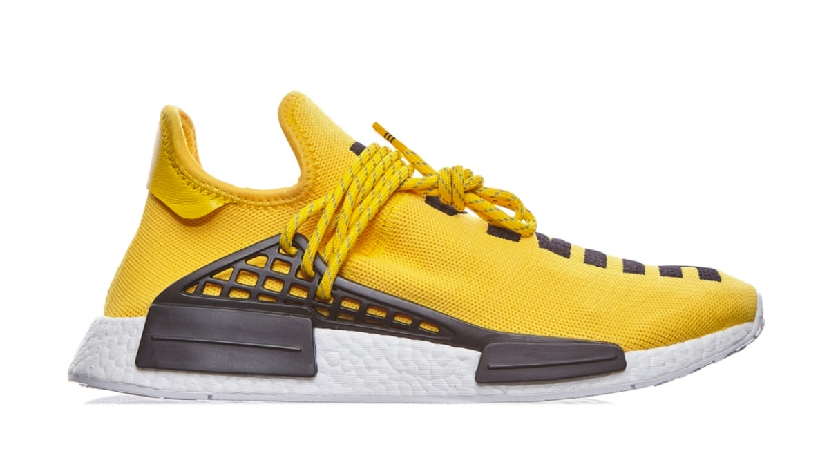 adidas x pharrell williams tennis hu human race white yellow