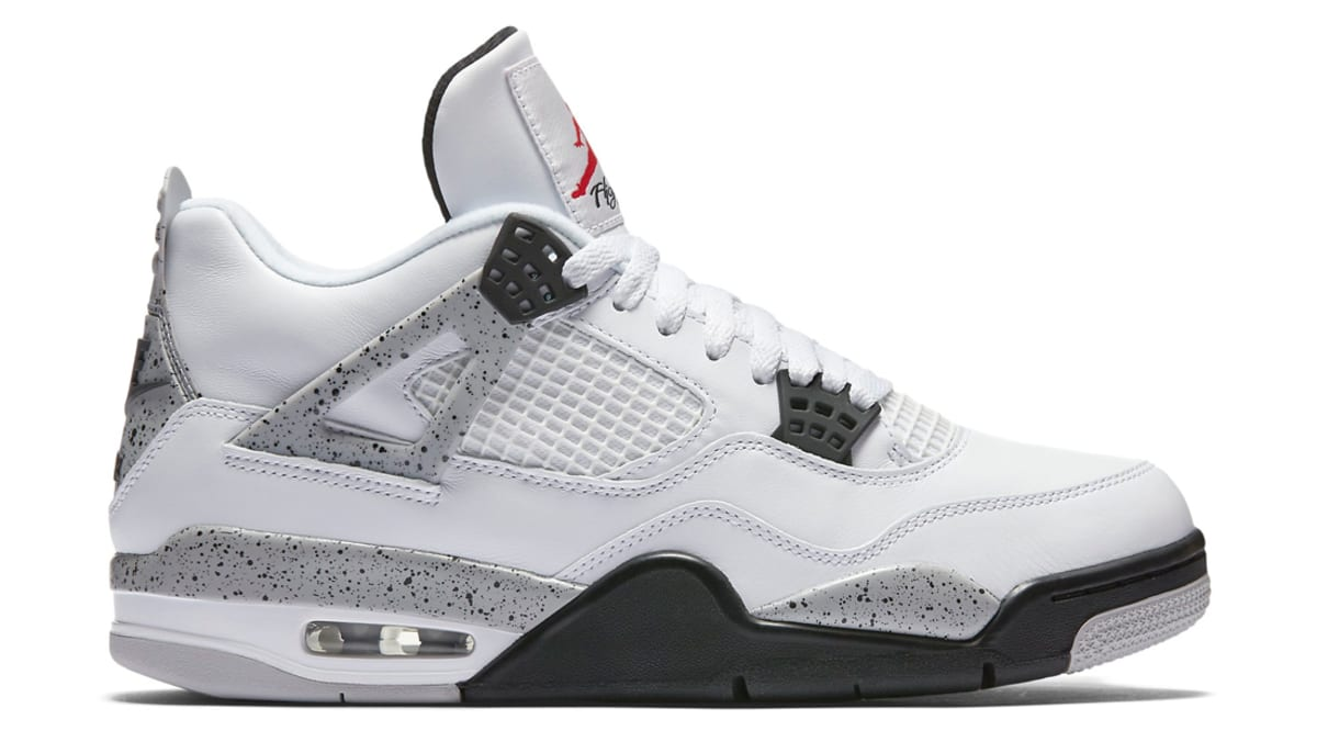 "White Retro: Air Jordan 4 Retro ""White/Cement"""