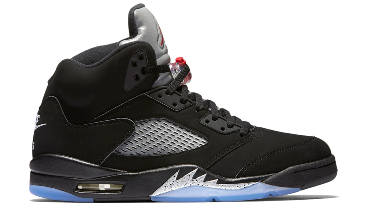"Air Jordan 5 Retro ""Black/Metallic Silver"" (2016) | Jordan"