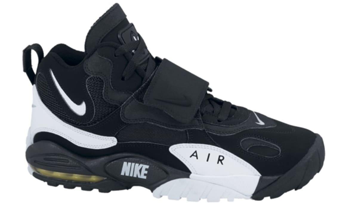 Nike Air Max Speed Turf Black/White-Voltage Yellow   Nike   Sole ...