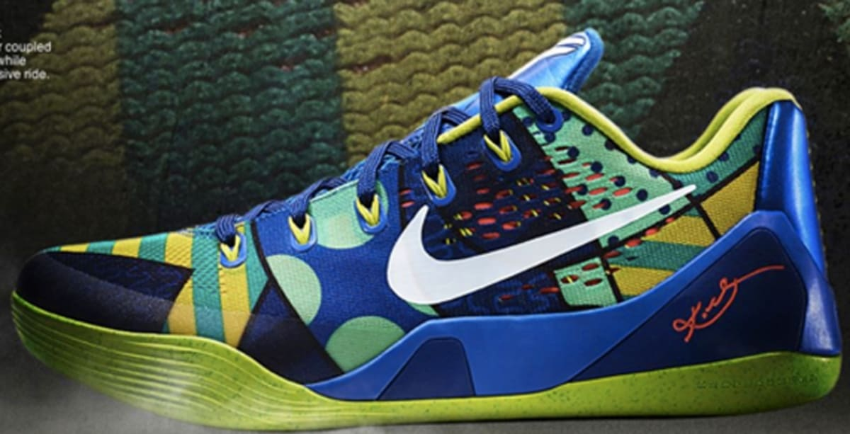 Nike Kobe 9 EM Game Royal/White-Venom Green | Nike | Sole ...