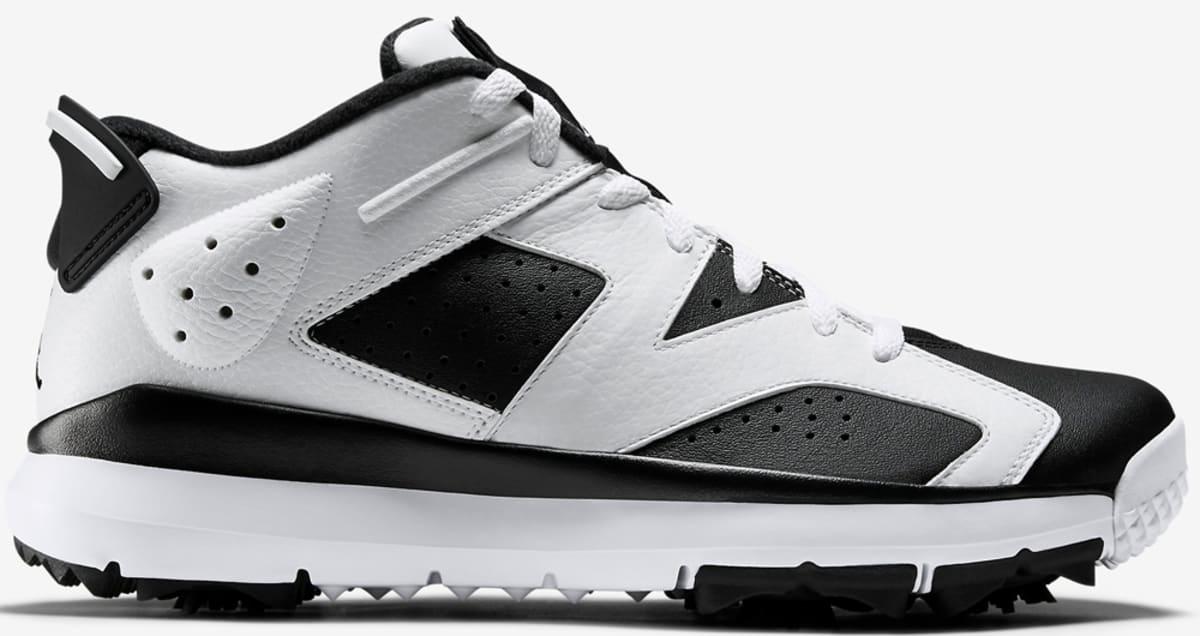 e22c23e719bf70 Air Jordan 6 Retro Low Golf White Black
