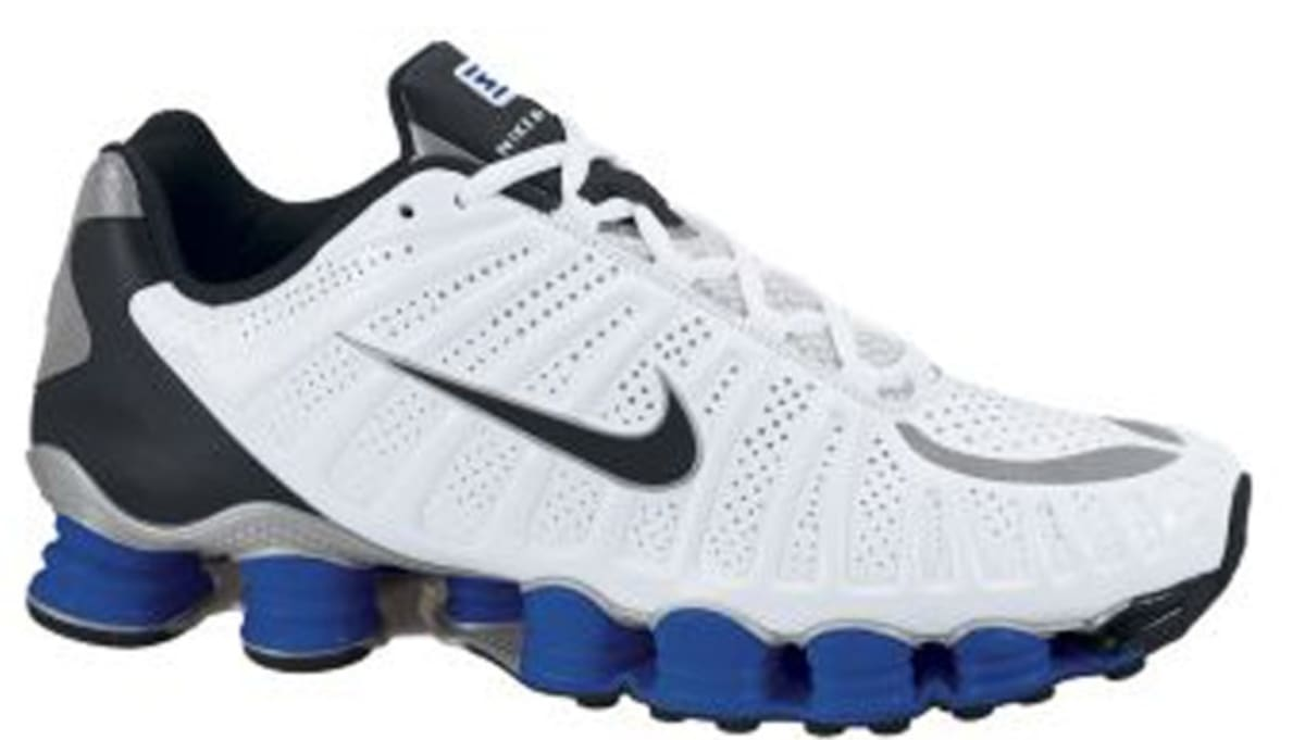 924ee19a9e4d89 official nike shox tlx white black old royal metallic silver 34f23 56f3e