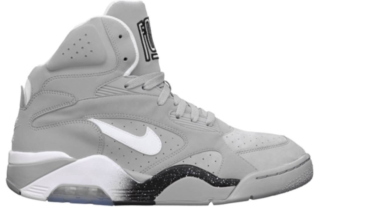 Nike Air Force 180 Mid Wolf Grey/White-Black