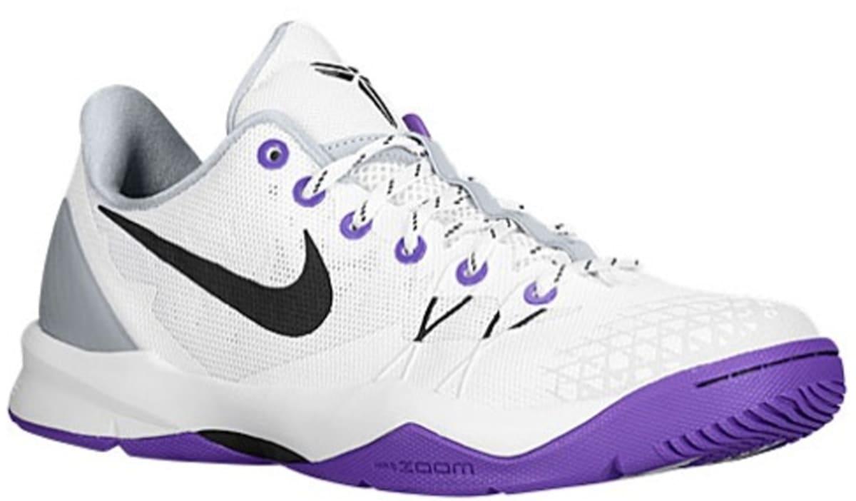best service b7ffe f945e Nike Zoom Kobe Venomenon 4 White Black-Wolf Grey-Court Purple