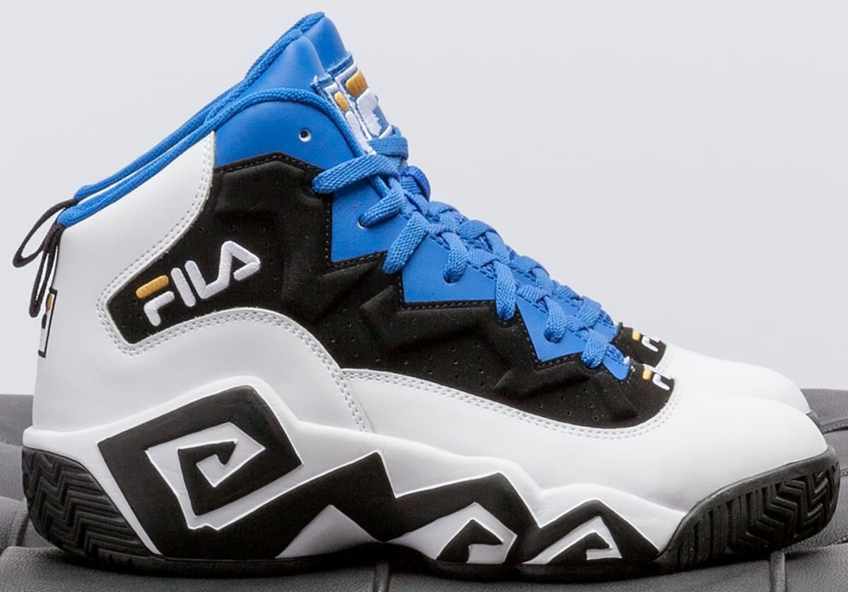 Red White And Blue Fila Shoes