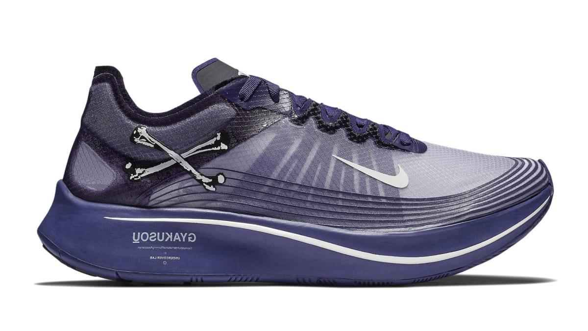8a18087f060a Undercover Gyakusou x Nike Zoom Fly SP Ink Sail-Dark Grey-Black ...