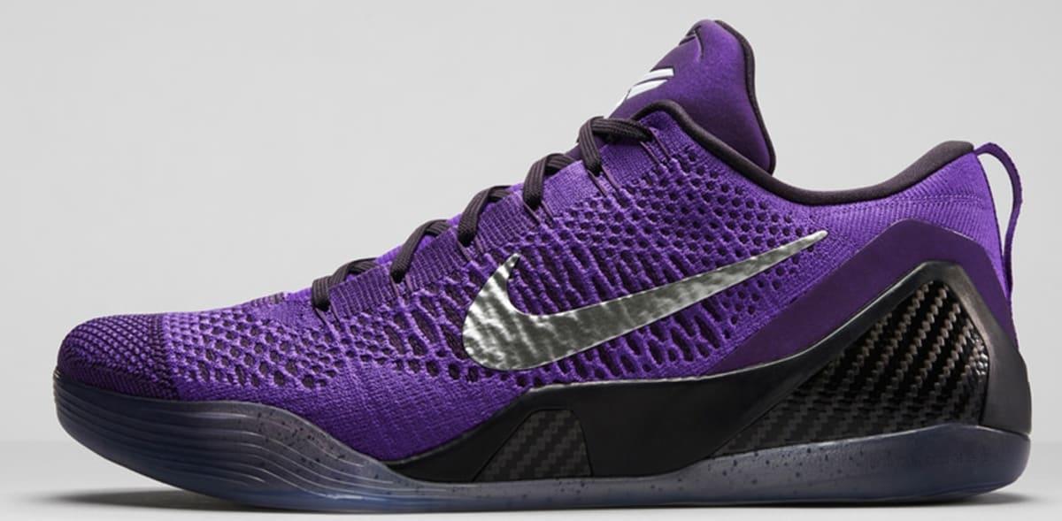 Nike Kobe 9 Elite Low Hyper Grape/Purple Venom-White ...