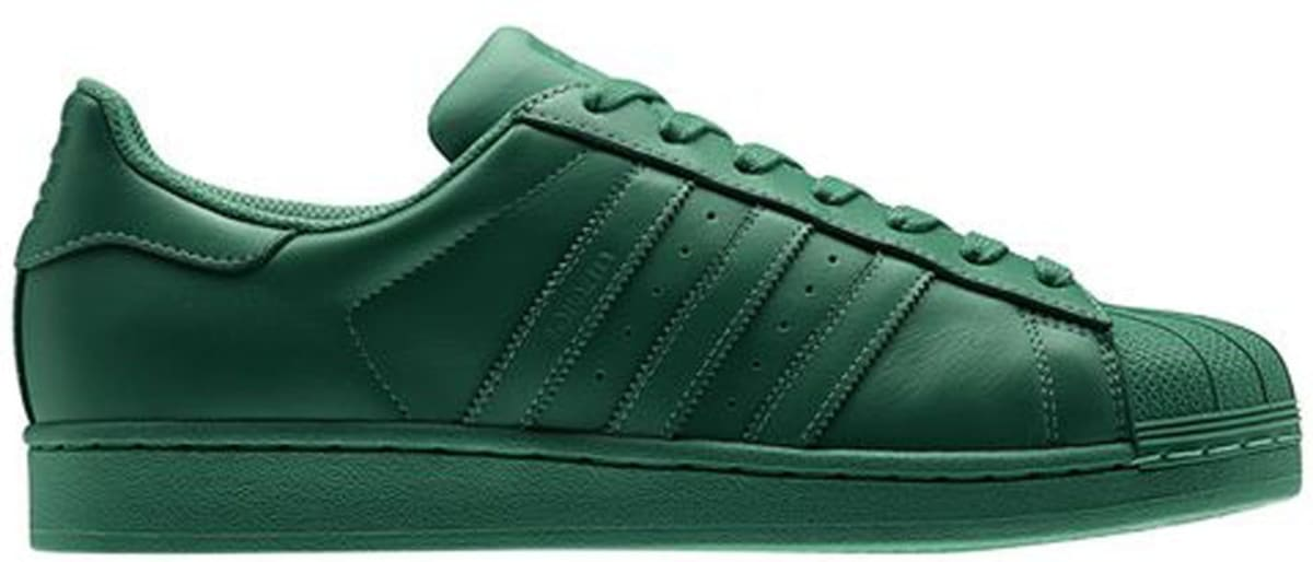 adidas dark green sneakers