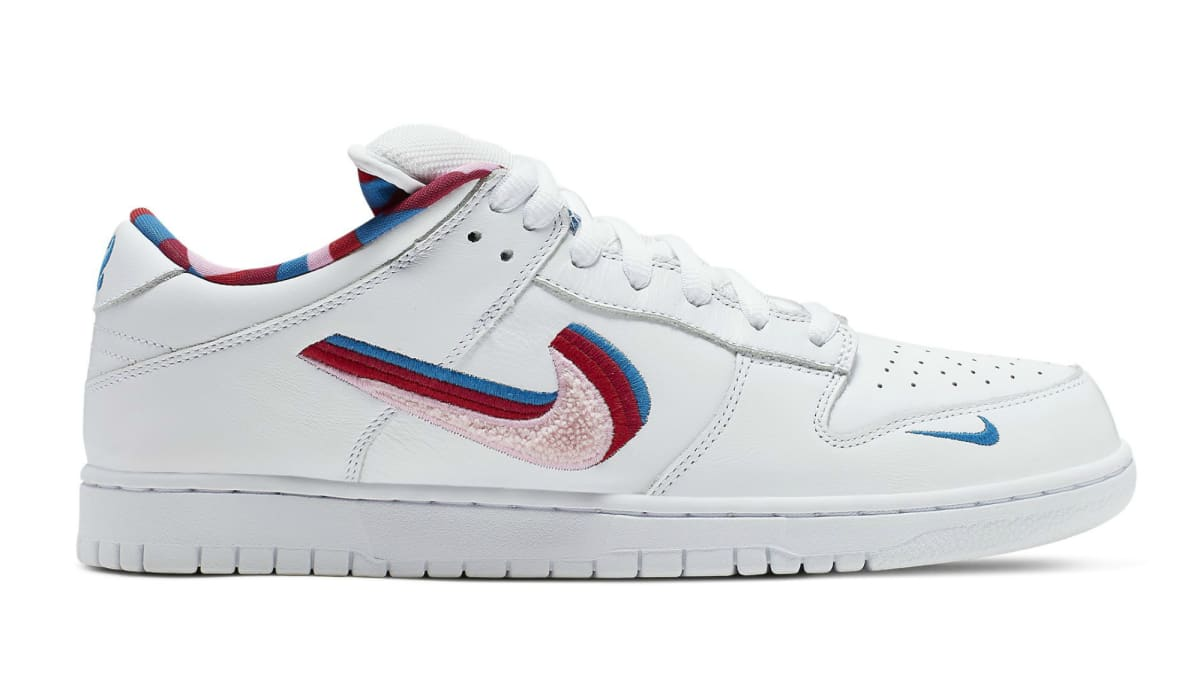 Parra x Nike SB Dunk Low White/Pink