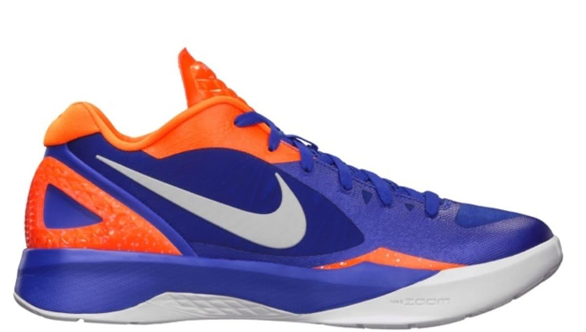 sports shoes e1d8b 35965 ... Nike Zoom Hyperdunk 2011 Low PE Treasure Blue White-Total Orange Nike  Sole Collector ...